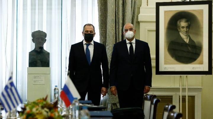 Ν. Δένδιας – Σ. Λαβρόφ: Eπιβεβαιώνονται οι ιστορικοί δεσμοί Ελλάδας – Ρωσίας