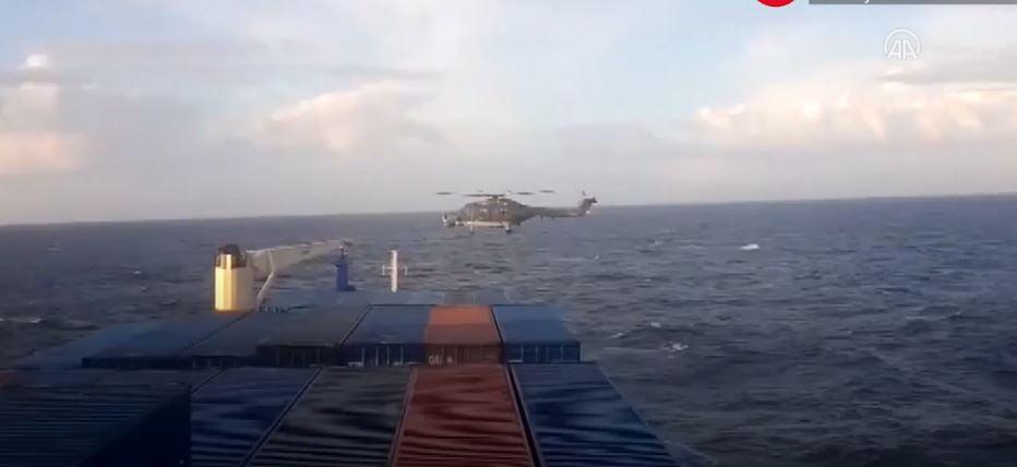 Το βίντεο της απόβασης των Γερμανών κομάντος στο τουρκικό πλοίο