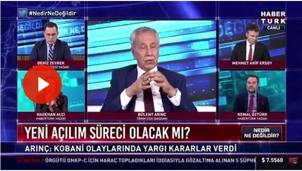 """Ο Ερντογάν """"παραίτησε"""" και τον Μπουλέντ Αρίντς"""