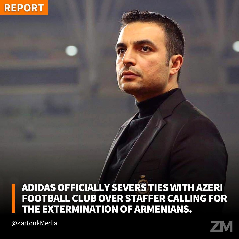 Τιμωρία από UEFA! Η Adidas πέταξε εκτός την Καραμπάχ εξαιτίας των αντιαρμενικών δηλώσεων