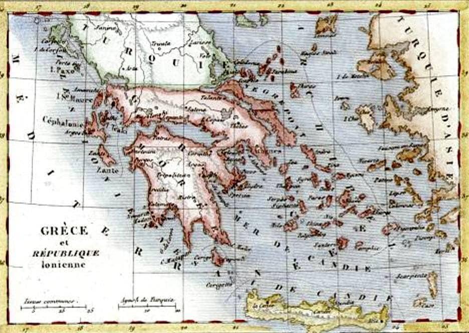 16 Νοεμβρίου 1828: Υπογράφεται στο Λονδίνο πρωτόκολλο από τους εκπροσώπους των Τριών Δυνάμεων, με το οποίο καθορίζονται τα σύνορα του νέου κράτους