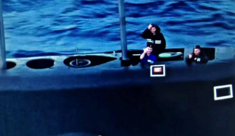 Δείτε πως υποδέχθηκαν οι Ρώσοι το πλήρωμα του αμερικανικού ανθυποβρυχιακού αεροσκάφους P8 Poseidon στα νερά της Μεσογείου