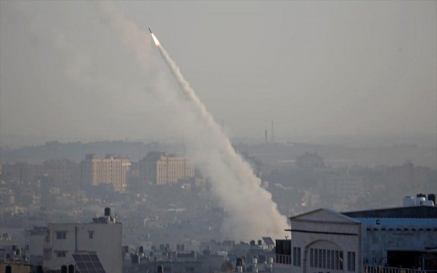 Ισραήλ: Ρουκέτες της Χαμάς χτύπησαν την πόλη Ασντοτ στα νότια της χώρας
