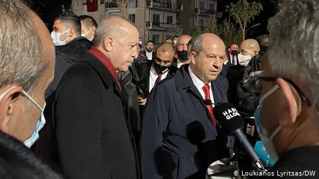 Ο Ερντογάν από την Αμμόχωστο προανήγγειλε την αναγνώριση του ψευδοκράτους από Αζερμπαϊτζάν
