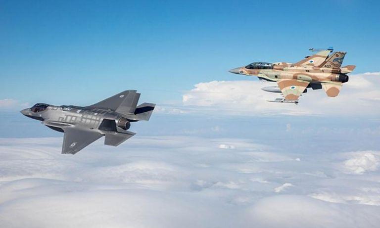 Κύπρος: Εντυπωσιακή άσκηση με τη συμμετοχή της ισραηλινής αεροπορίας