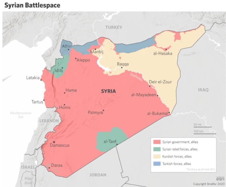 STRATFOR : Η Τουρκία χάνει έδαφος στο μέτωπο της Συρίας