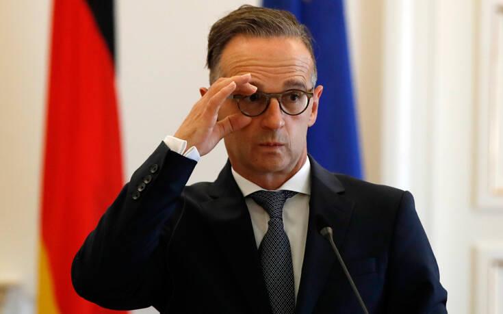 Επαναφέρει θέμα κυρώσεων ο Μάας: «Σίγουρα θα προκύψει ξανά το ζήτημα επιβολής κυρώσεων εναντίον της Άγκυρας»