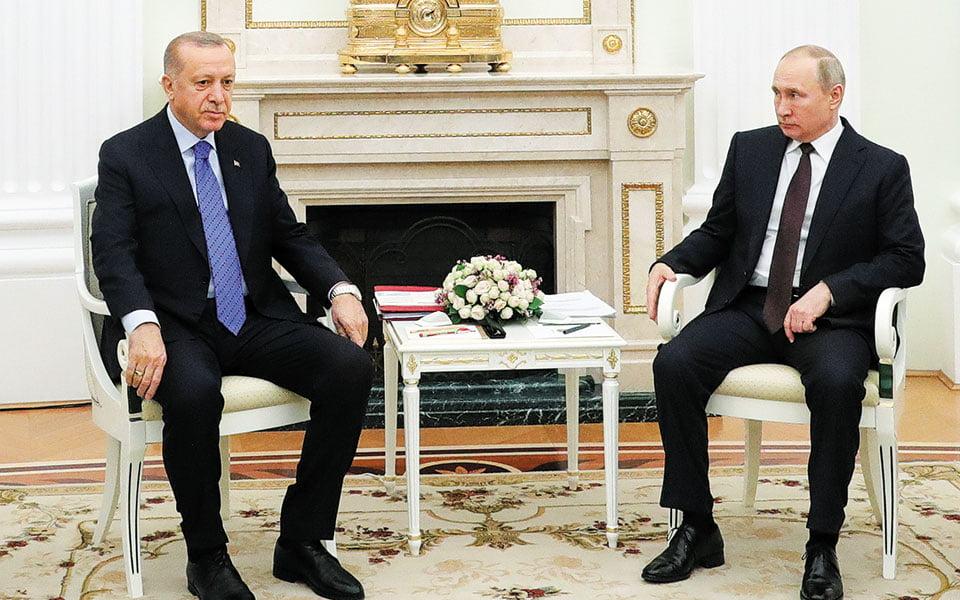 Ο Ερντογάν εκλιπαρεί Πούτιν: Να συμμετέχουν κι άλλες χώρες στην επίβλεψη της εκεχειρίας στο Ναγκόρνο Καραμπάχ