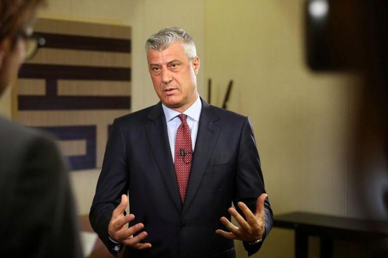 Κόσοβο: Παραίτηση Θάτσι μετά την απαγγελία κατηγορίας εναντίον του για εγκλήματα πολέμου του UCK