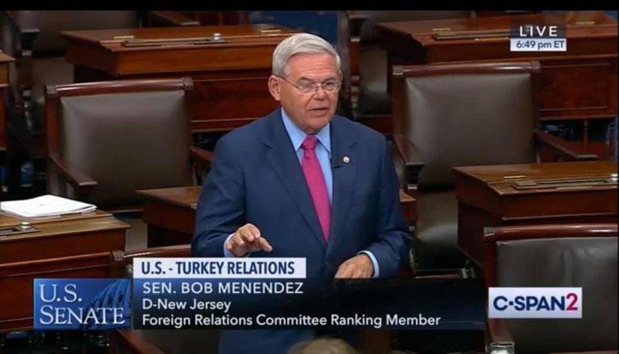 Ο Γερουσιαστής Μενέντεζ για Ναγκόρνο Καραμπάχ και Ερντογάν