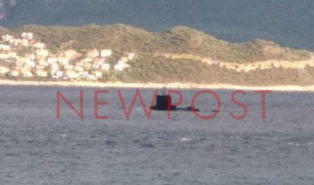 Ο αθόρυβος εφιάλτης των Τούρκων: «Ασπίδα» στο Καστελόριζο -Αποκλειστικές φωτογραφίες από Ελληνικό υποβρύχιο έξω από το λιμάνι της Μεγίστης