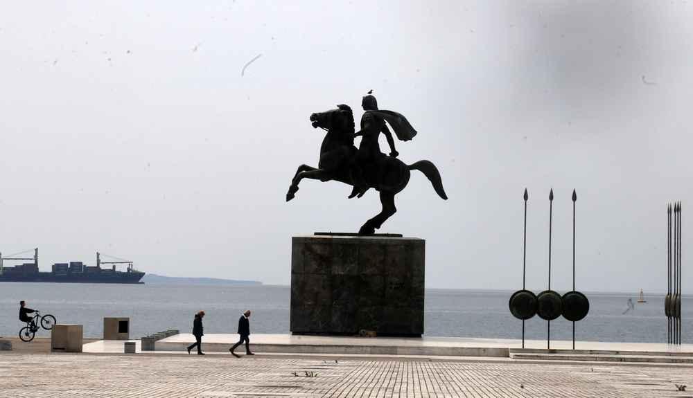 Θεσσαλονίκη: Προσήχθησαν Κύπριοι φοιτητές που επιχείρησαν να υψώσουν πανό για τα Βαρώσια