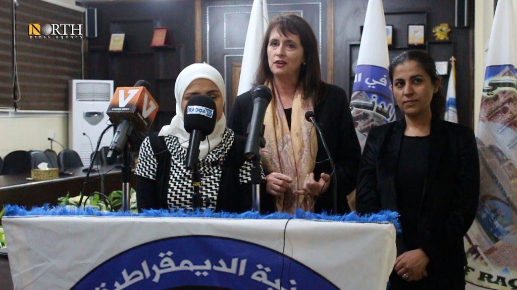 Αντιπρόεδρος της Επιτροπής Διεθνούς Θρησκευτικής Ελευθερίας των Ηνωμένων Πολιτειών: Πρέπει να αναγνωρίσουμε Αυτόνομη Διοίκηση στην Βορειοανατολική Συρία