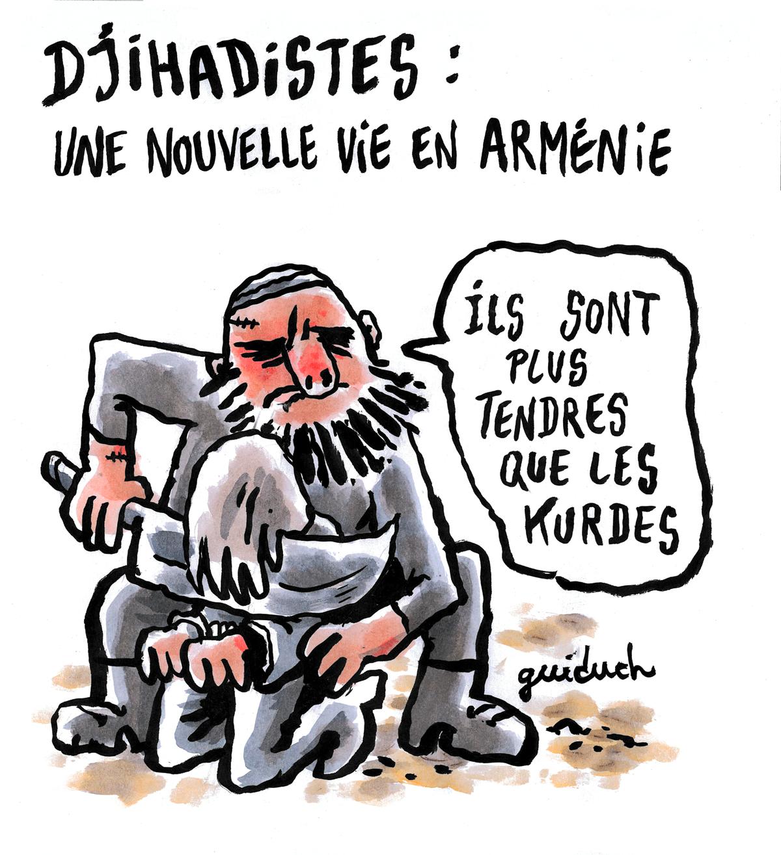 Charlie Hebdo : Αρμενία-Αζερμπαϊτζάν, μη γελάτε, το Ναγκόρνο-Καραμπάχ μας αφορά κ' εμάς