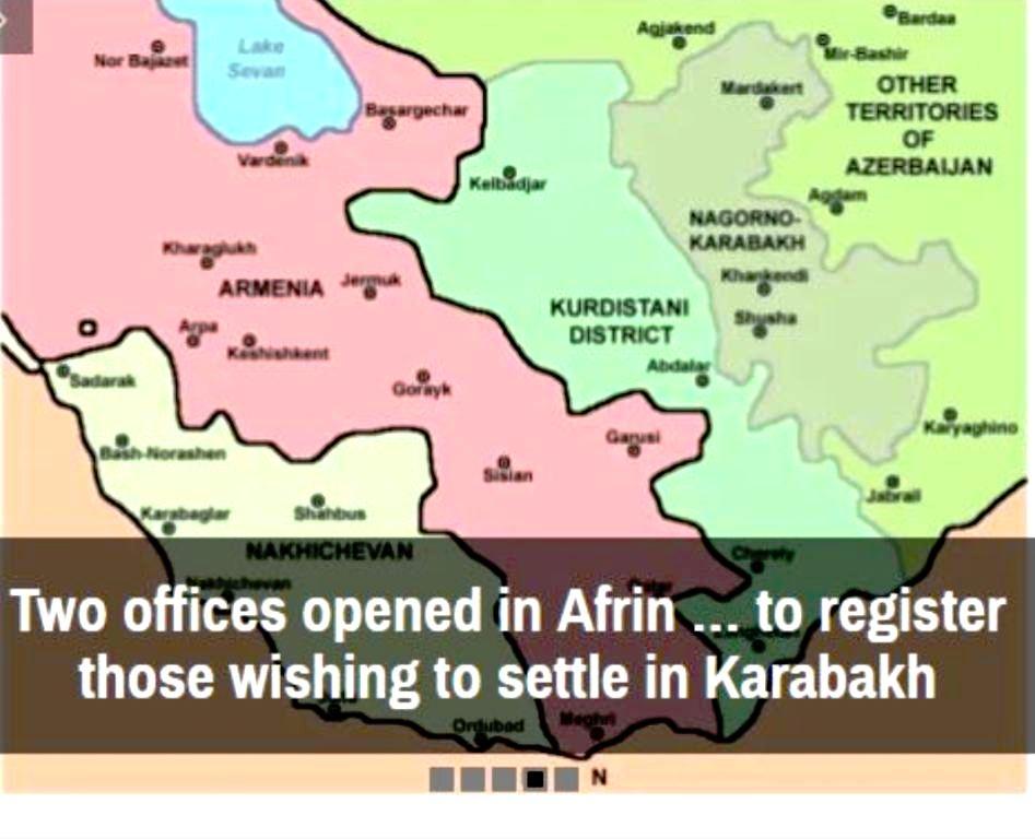 Ναγκόρνο-Καραμπάχ: Η Τουρκία εγκαθιστά ήδη εκεί Σύρους τζιχαντιστές στη θέση των απελαθέντων Αρμένιων