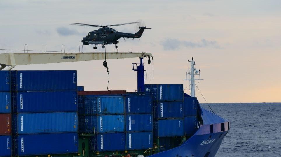 Επιχείρηση Ειρήνη: Η Άγκυρα αρνήθηκε έλεγχο σε τουρκικό πλοίο και η διαδικασία σταμάτησε
