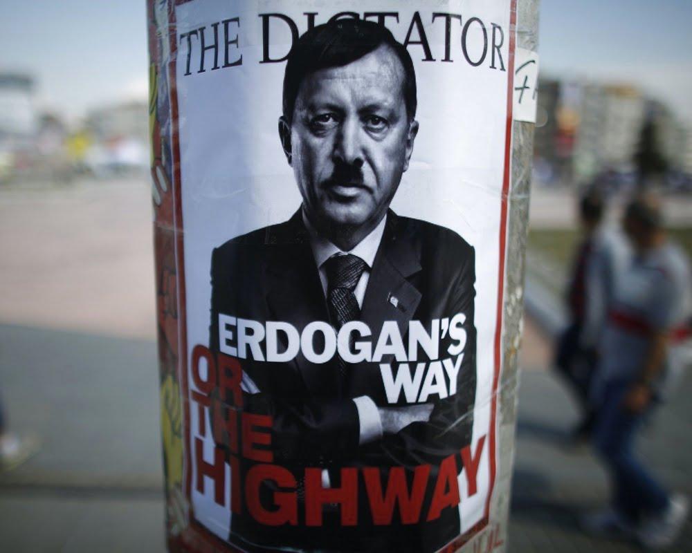 Οι κοινές εγκληματικές πρακτικές Ερντογάν και Χίτλερ