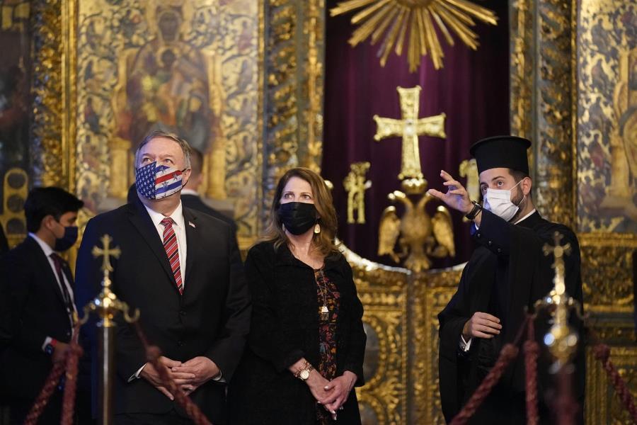 Ο Πομπέο στο Πατριαρχείο εγκαινίασε τη νέα εποχή των σχέσεων ΗΠΑ-Τουρκίας