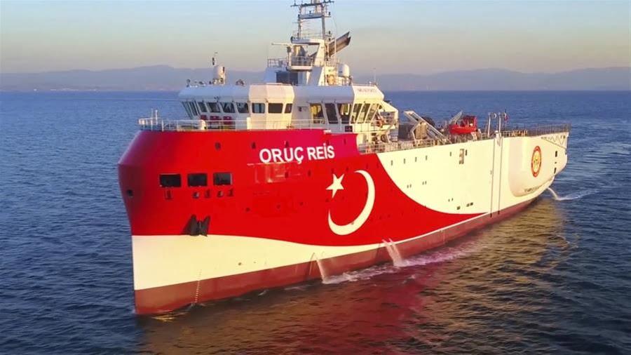 Άγκυρα: Το Oruc Reis θα ολοκληρώσει τις εργασίες του στις 29 Νοεμβρίου