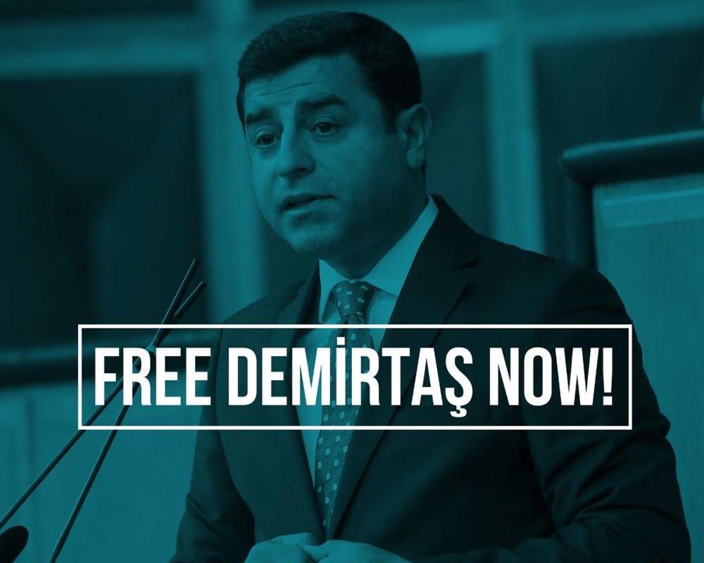 Το τουρκικό δικαστήριο απέρριψε την αίτηση απελευθέρωσης του Ντεμιρτάς επειδή…