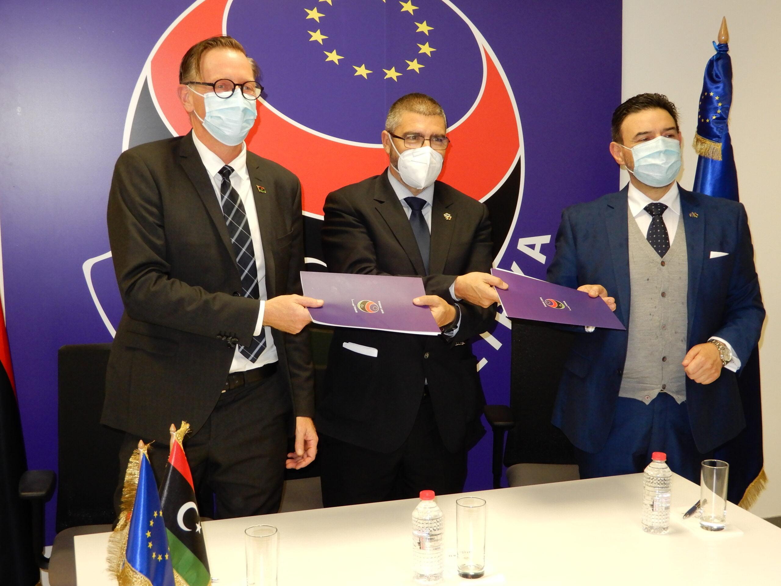 «ΕΙΡΗΝΗ» και ΕΕ υπέγραψαν συμφωνία στη Λιβύη