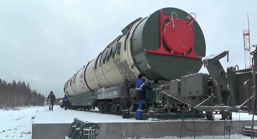 Ο διηπειρωτικός πύραυλος Sarmat μπαίνει το 2022 στην οπλική «φαρέτρα» της Ρωσίας