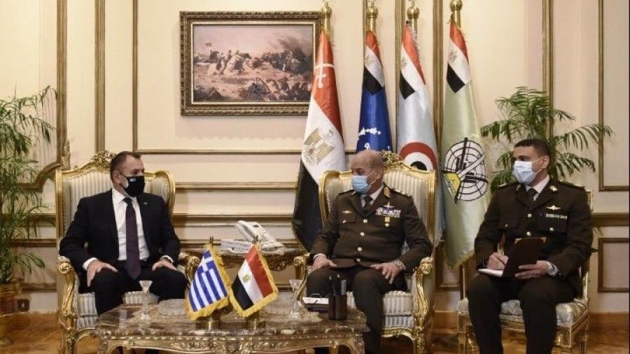 Παναγιωτόπουλος (ΥΕΘΑ): Στρατηγική συμμαχία με την Αίγυπτο κατά των τουρκικών προκλήσεων