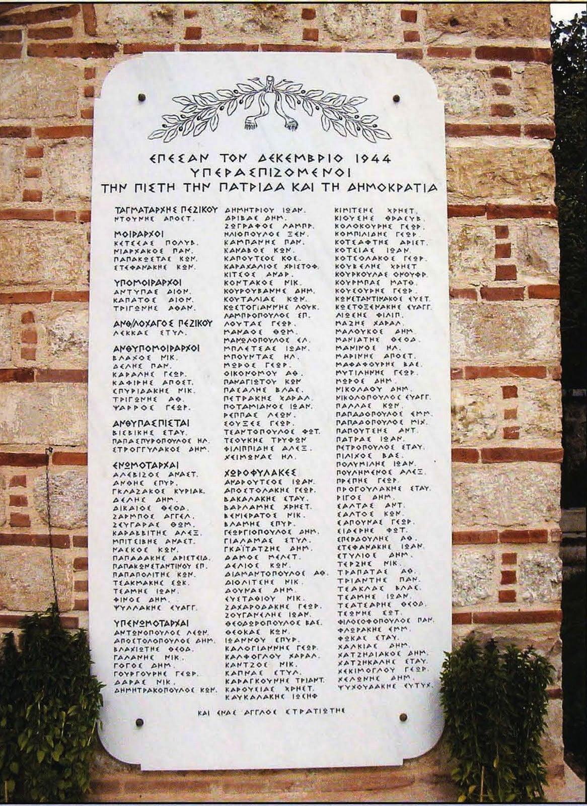 Σύνταγμα Μακρυγιάννη – Δεκέμβριος 1944: Το οχυρό που δεν έπεσε