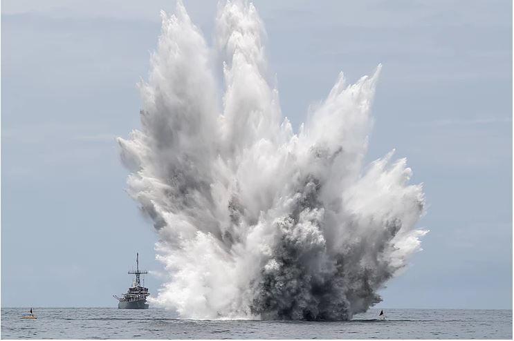 Θαλάσσιος ναρκοπόλεμος και διεθνές δίκαιο