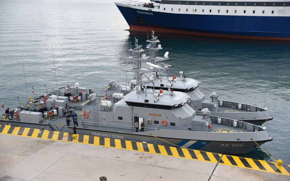Δύο υπερσύγχρονα νέα περιπολικά σκάφη στο Λιμενικό Σώμα (βίντεο)