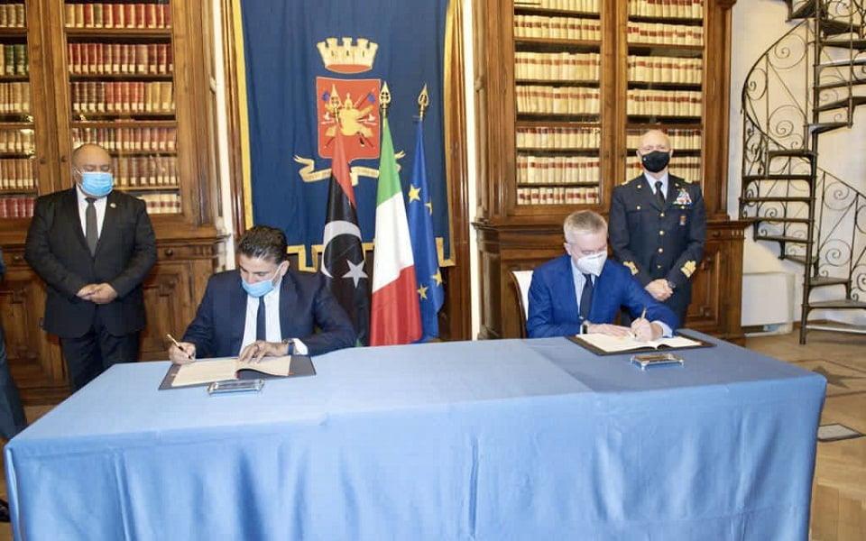 Αμυντική συμφωνία της Ρώμης με την κυβέρνηση Σάρατζ της Τρίπολης