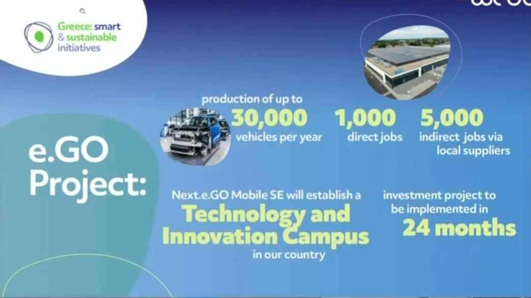 Next e.go Mobile: Χίλιες νέες θέσεις εργασίας φέρνει με το εργοστάσιο αυτοκινήτων – Το μήνυμα του Μητσοτάκη