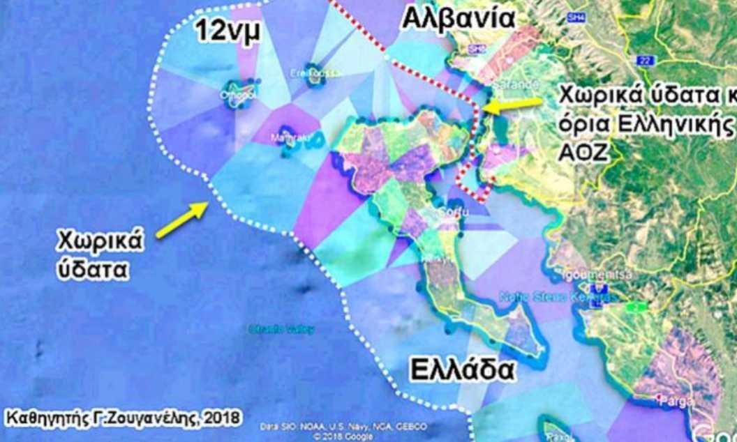 Ολοταχώς για επέκταση των χωρικών υδάτων στα 12 ναυτικά μίλια στο Ιόνιο – Σε ισχύ το Προεδρικό Διάταγμα – Τι θα γίνει στο Αιγαίο