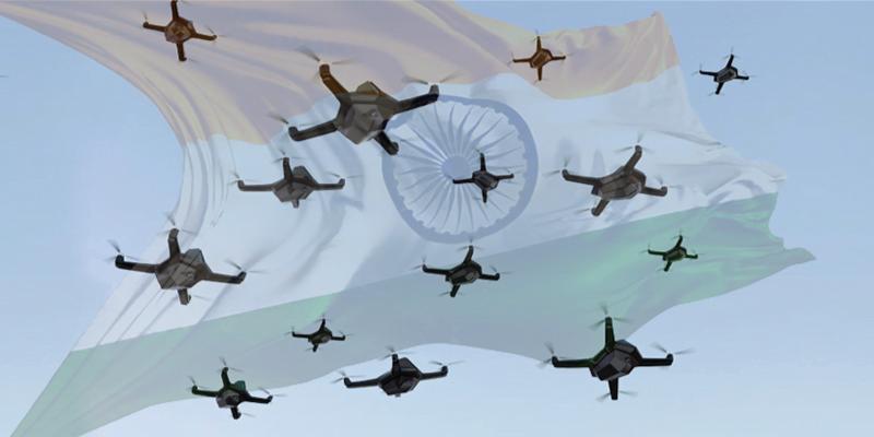 Aναγκαία μετάδοση παρόμοιας τεχνογνωσίας-Η Ινδία χρησιμοποίησε επιχειρησιακά Swarm Drone