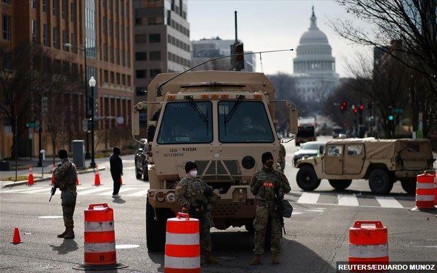 «Φρούριο» η Ουάσινγκτον- Σε επιφυλακή και οι 50 Πολιτείες για ένοπλες διαδηλώσεις