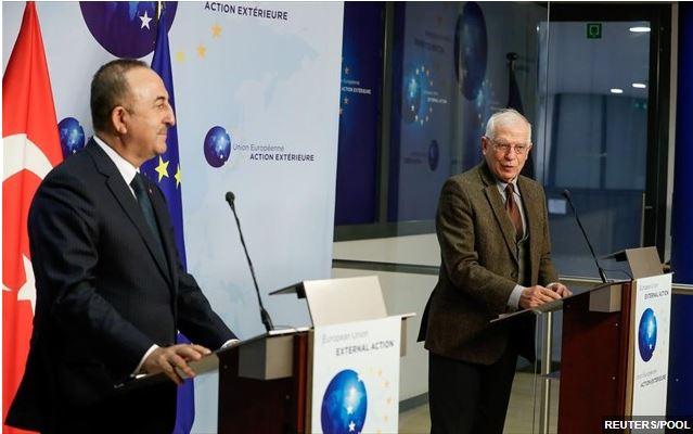Μικρή πρόοδος στις συζητήσεις Μπορέλ – Τσαβούσογλου για την Ανατολική Μεσόγειο