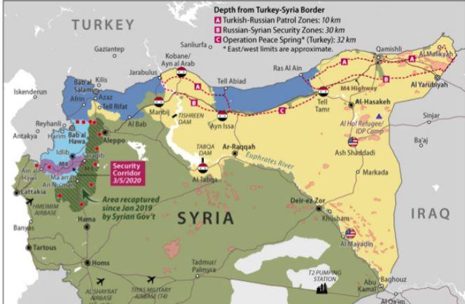 Οι επιθέσεις της Τουρκίας εναντίον των Κούρδων στη Β. Συρία και οι επιπτώσεις στην πολιτική των ΗΠΑ στην περιοχή