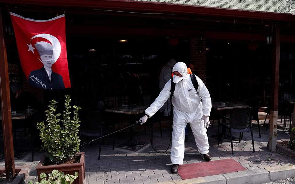 Κορωνοϊός – Τουρκία: 9.537 νέα κρούσματα – 181 θάνατοι το τελευταίο 24ωρο