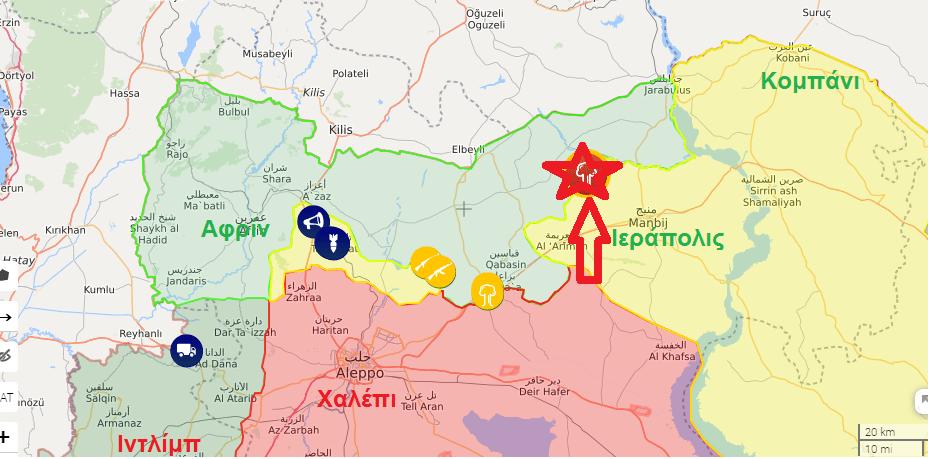 Μυστηριώδη drones έπληξαν Τούρκους λαθρέμπορους πετρελαίου στην κατεχόμενη Β. Συρία