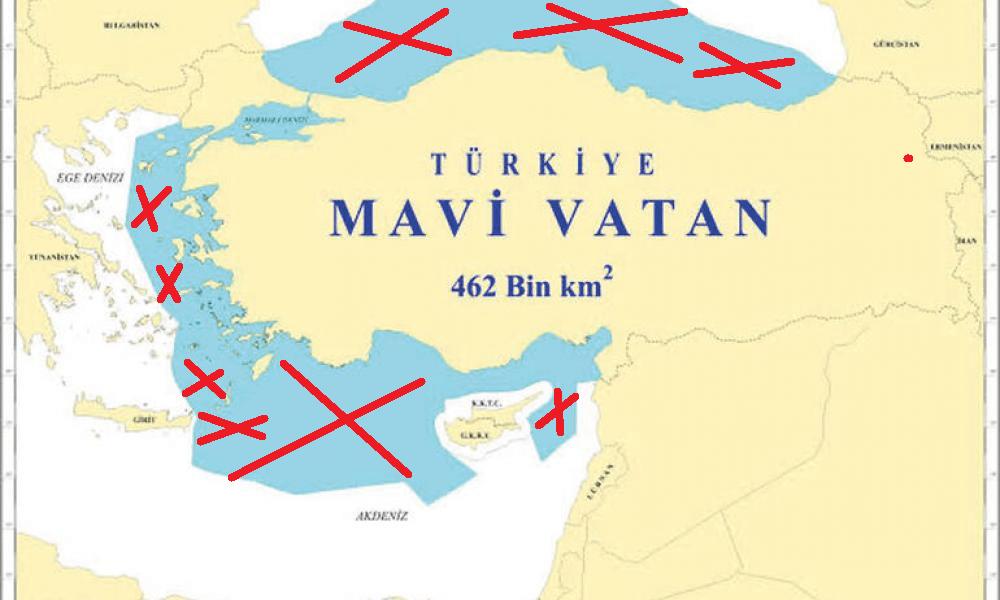 """Σφαλιάρα στον Ερντογάν και τη """"Γαλάζια Πατρίδα"""" από Τούρκο αρθρογράφο"""