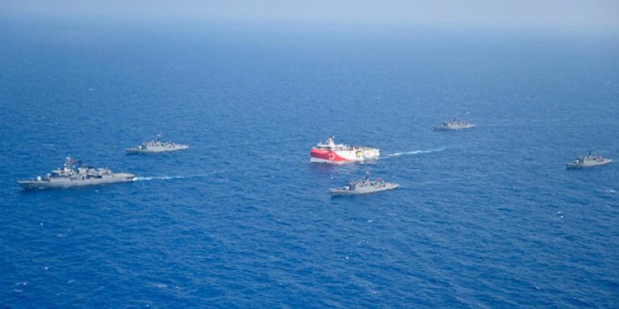 Τουρκική Προεδρεία: Η Τουρκία δεν πρόκειται να κάνει πίσω στην ανατ. Μεσόγειο