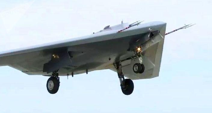 Ojotnik: To εντυπωσιακό ρωσικό drone μάχης υπεβλήθη σε δοκιμές