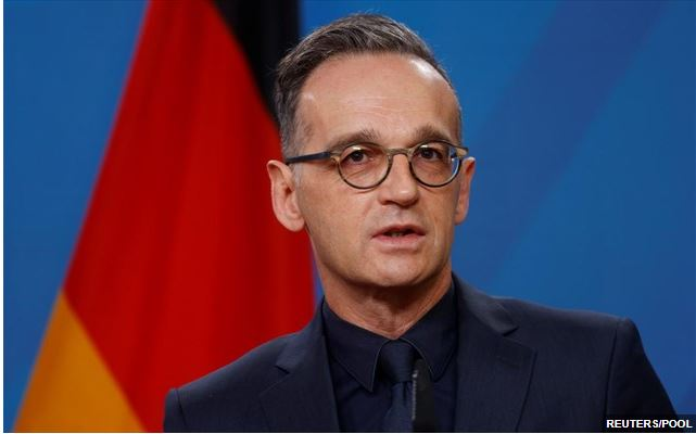 Γερμανός ΥΠΕΞ, Χ. Μάας: Η Τουρκία είναι υποχρεωμένη να σέβεται το διεθνές δίκαιο
