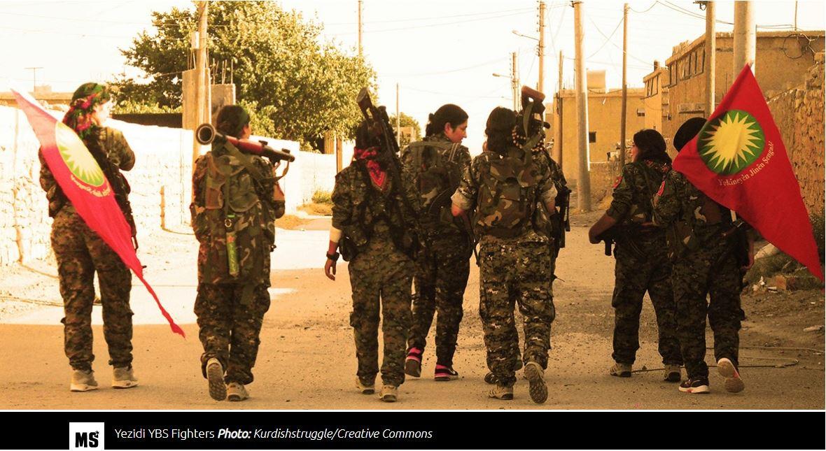 Οι Κούρδοι απαιτούν τέλος της τουρκικής κατοχή του Αφρίν