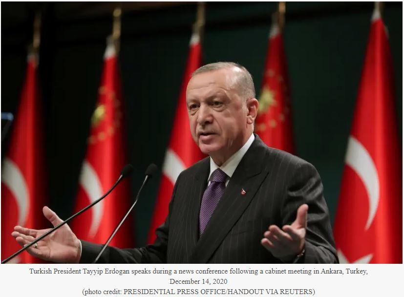 Η πρακτική της εισβολής της Τουρκίας σε ξένες χώρες, μπορεί να τερματιστεί μετά τον Τραμπ