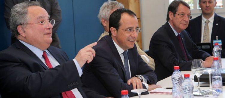Το 2017 η Κυπριακή Δημοκρατία δεν συμμετείχε στην «Πενταμερή» ως κυρίαρχη χώρα