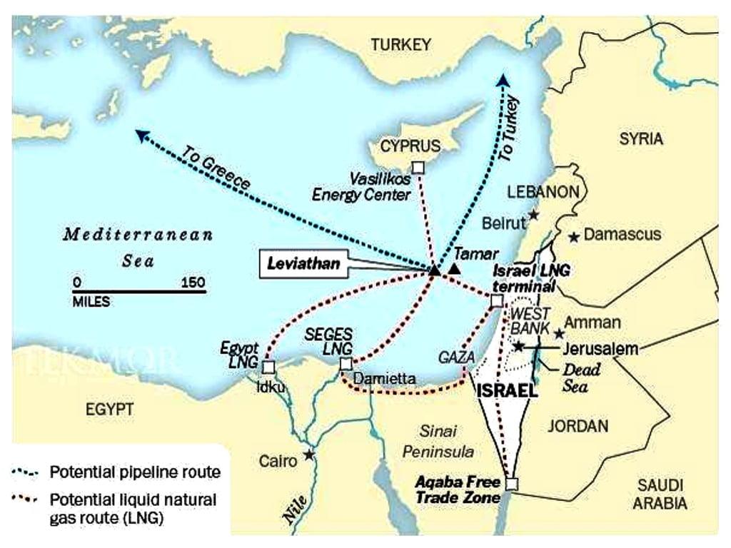 Ισραήλ: Το φυσικό αέριο που αναμενόταν να ρέει προς την Ευρώπη έφυγε για την Αίγυπτο