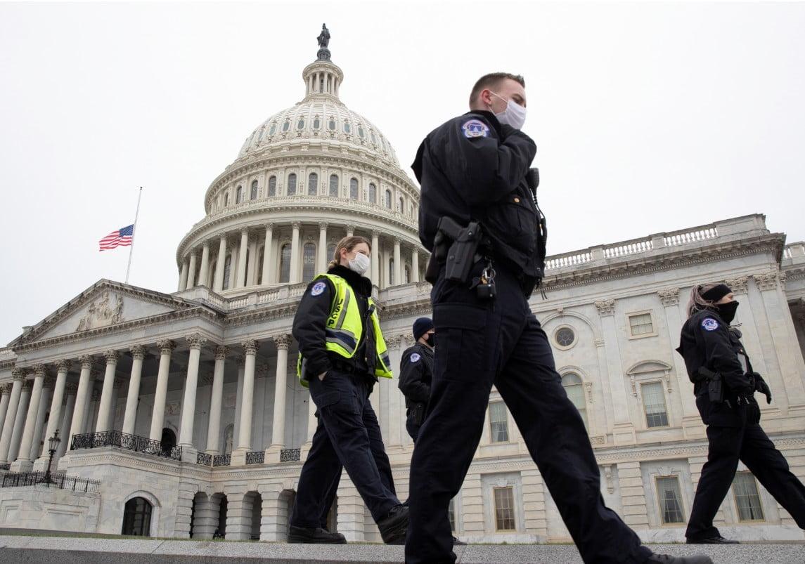 Συναγερμός στην Ουάσινγκτον: «Σφραγίστηκε» το Καπιτώλιο λόγω «εξωτερικής απειλής» – Διεκόπη η πρόβα για την ορκωμοσία Μπάιντεν (Βίντεο)