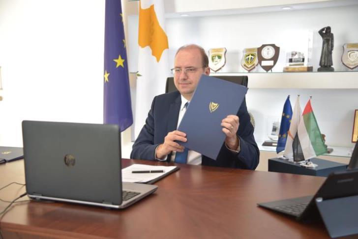 Κύπρος: Υπογραφή μνημονίου αμυντικής και στρατιωτικής συνεργασίας της Κυπριακής Δημοκρατίας με τα ΗΑΕ
