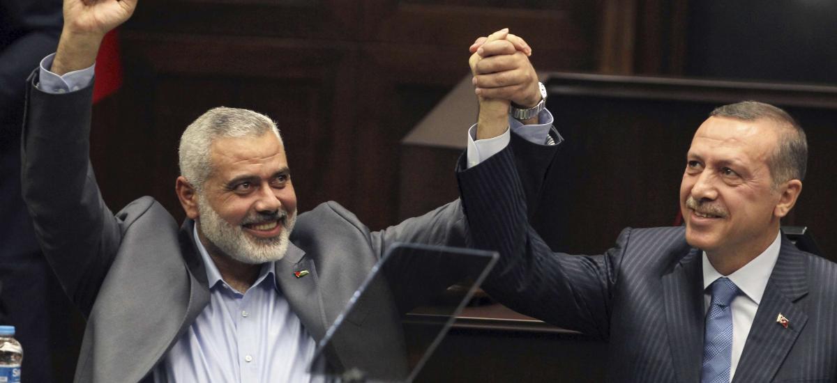 """Ο Ερντογάν έλαβε το μήνυμα από το Ισραήλ και """"πουλάει"""" στεγνά τη Χαμάς"""